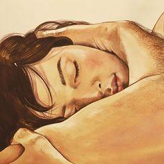 Intimste Momente der Zweisamkeit kunstvoll festgehalten – wunderschöne Zeichnungen von Frida Castelli