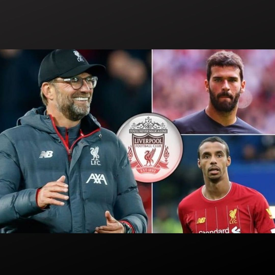 Jurgen Klopp Has Confirmed Alisson Becker Has Returned To Team Training As He Revealed Joel Matip And Xherdan Shaqiri Wil Team Training Joel Matip Jurgen Klopp