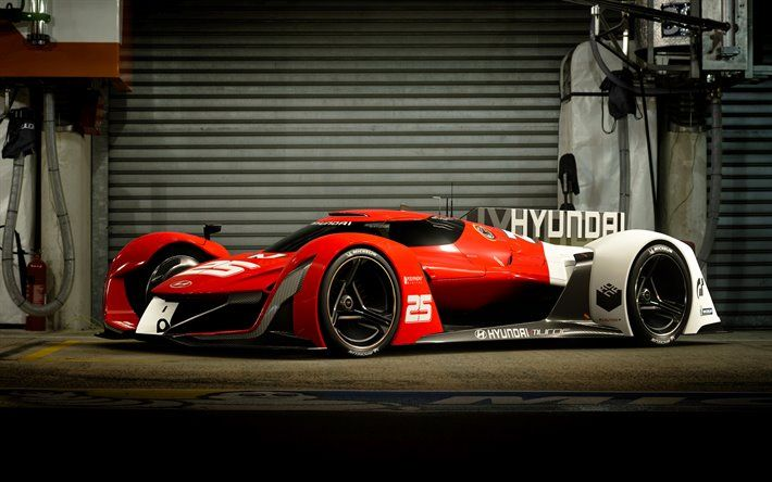 Scarica sfondi 4k, Hyundai N 2025 Vision GT Concept, auto sportive, 2017 autovetture, supercar, Hyundai besthqwallpapers.com