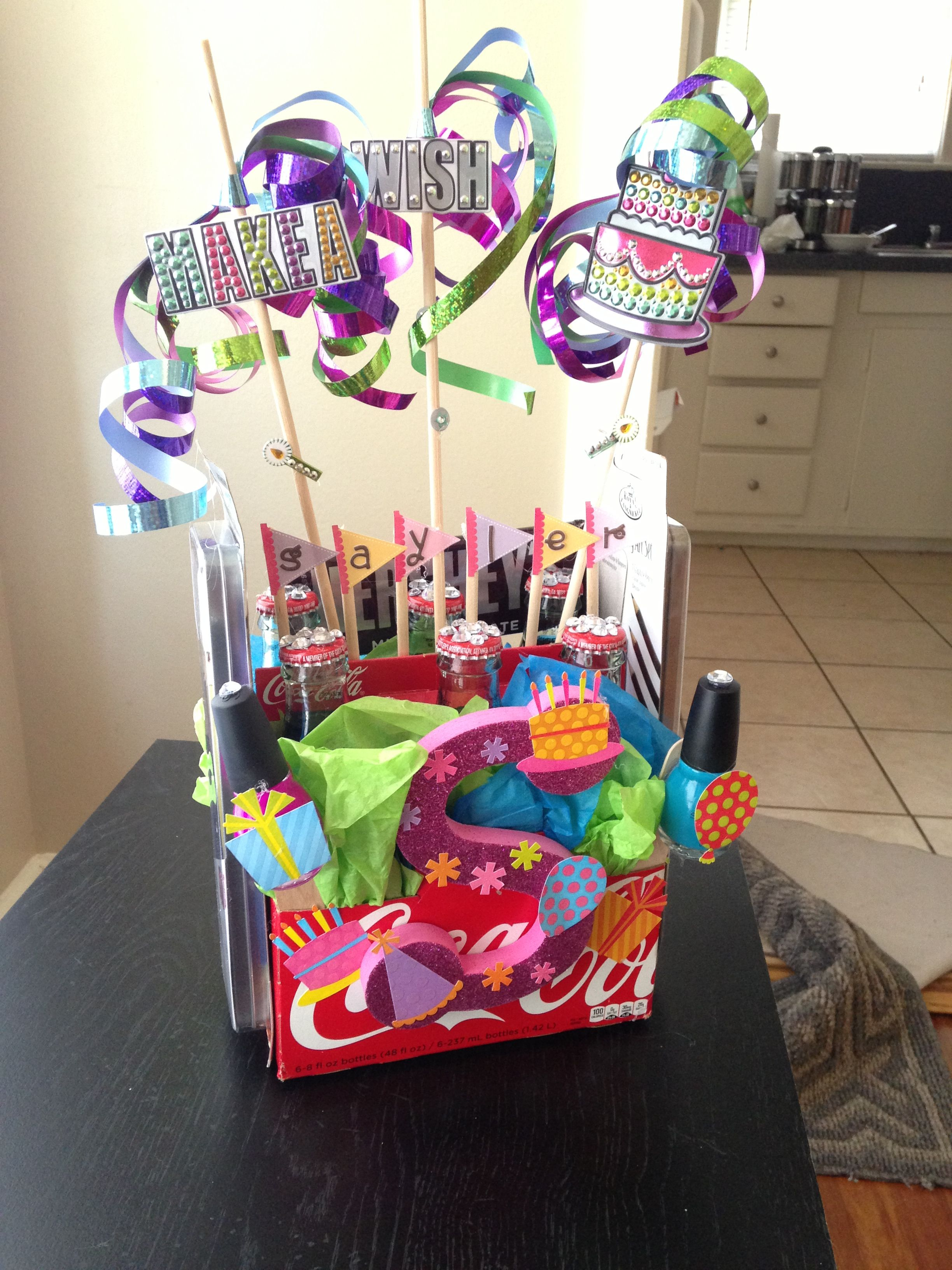 Diy Birthday Gift Coca Cola Bouquet So Cute And Easy To