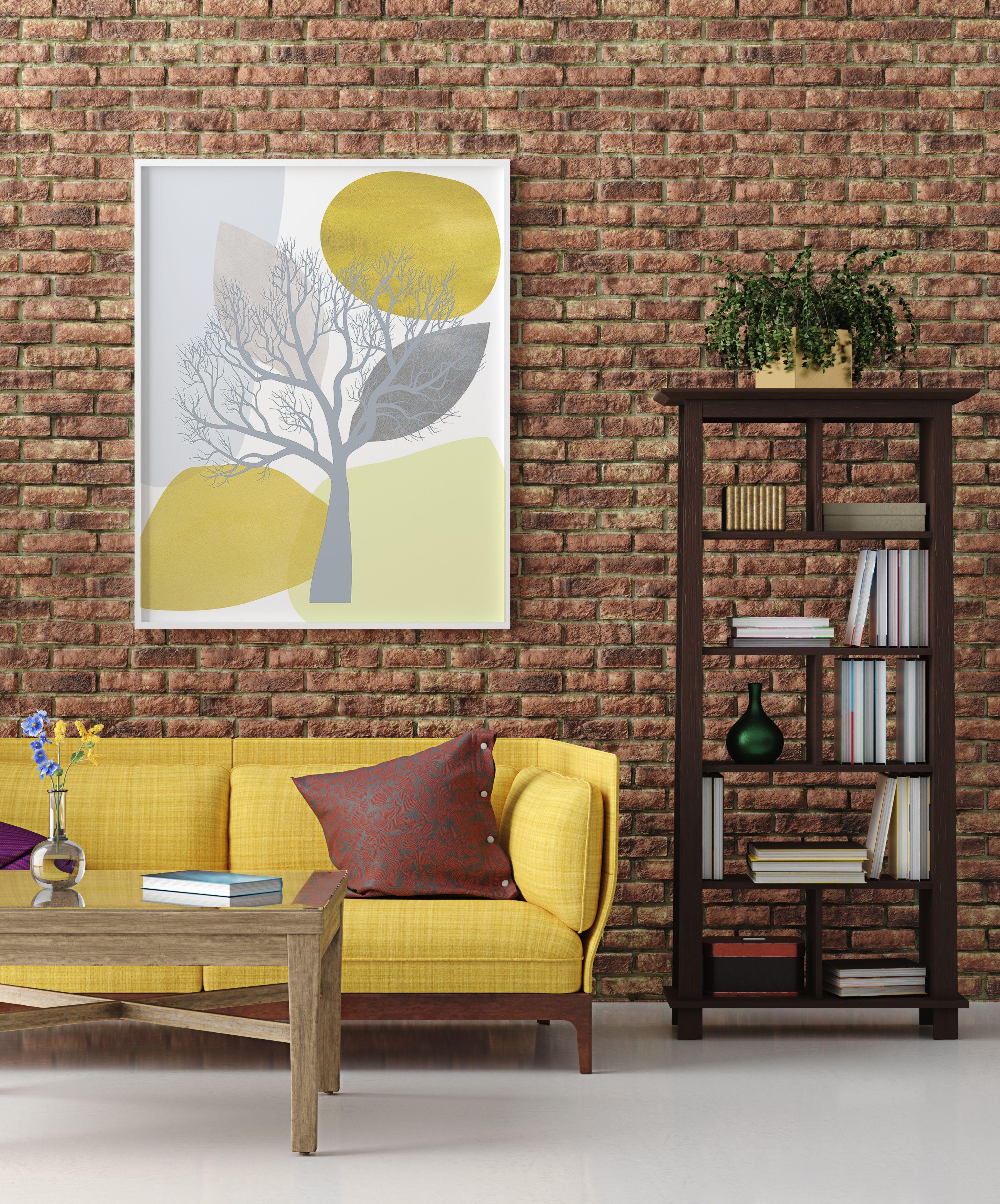 Tree Art Print, Mid Century Modern Wall Art, Bohemian ... on Modern Boho Wall Decor  id=27082