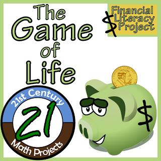 The Game of Life - Financial Literacy - Real World Math ...