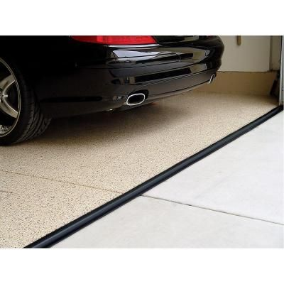 Tsunami Seal 16 Ft Black Garage Door Threshold Kit 53016 Garage Door Threshold Black Garage Doors Garage Door Seal