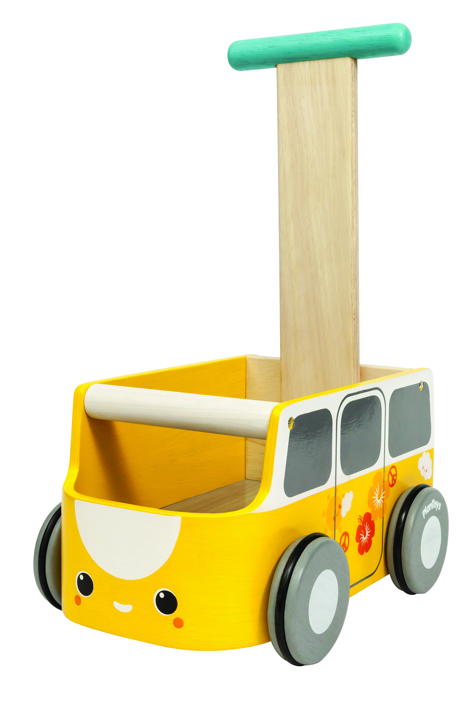 This walker is a van and could be used for storage for other little toys too. - See more at: http://usa.plantoys.com/product/van-walker-yellow/#sthash.r9SkLiuL.dpuf