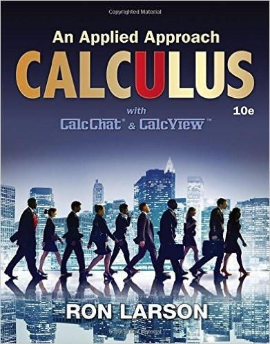 Calculus an applied approach 10th edition by ron larson isbn 13 calculus an applied approach 10th edition by ron larson isbn 13 978 1305860919 fandeluxe Choice Image