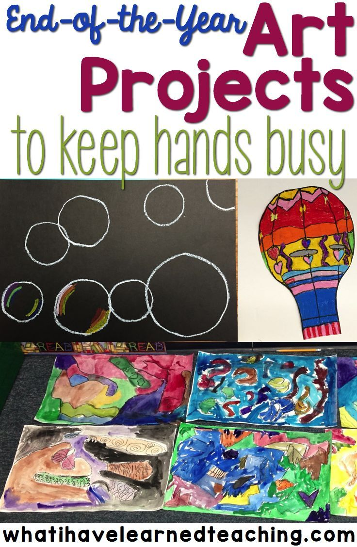 End Of The Year Art Projects That Keep Students Hands Busy During Last Few Weeks School Find Some Fun We Do In Our Classroom