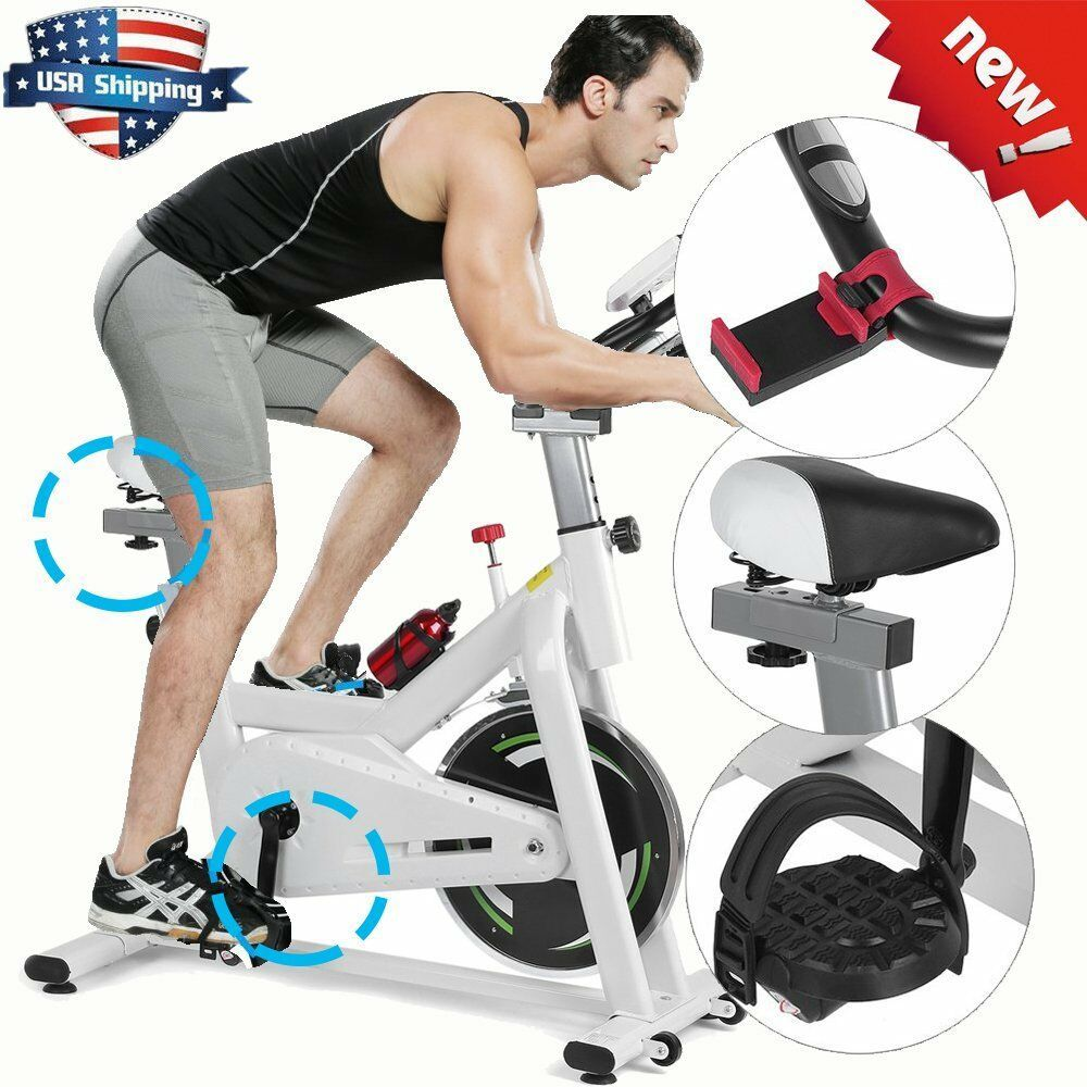 Cycling Fitness Gym Bicycle Exercise Stationary Bike Cardio