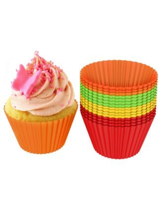 Trademark Global Silicone Baking Cups Baking Cups Silicone