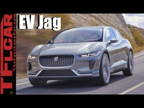 2018 Jaguar I Pace Concept Jag S First All Electric Car Is An Ev Stunner All Electric Cars Car Electric Car