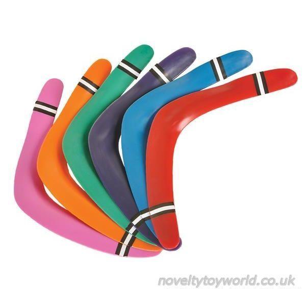 Bulk Buys Toy Boomerangs