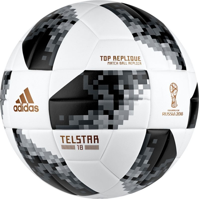 adidas 2018 Fifa World Cup Russia Telstar Top Replique Soccer Ball ... 529d1be1ddb0a