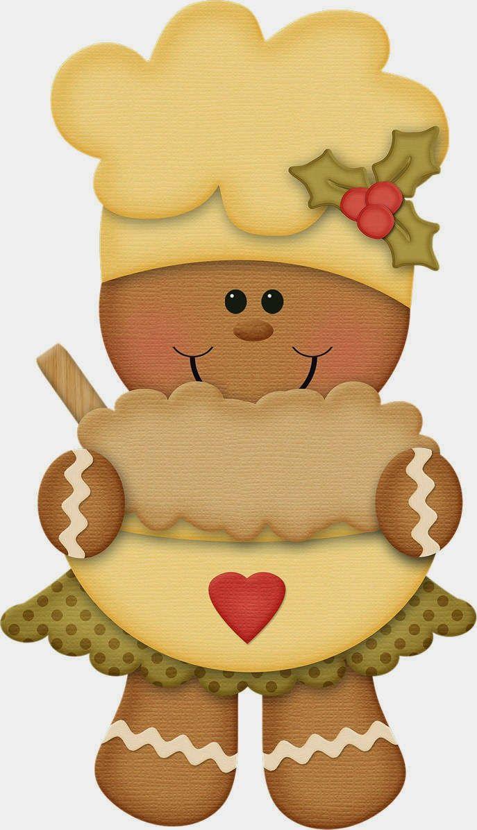 Resultado de imagen para muñeco de jengibre para colorear | navidad ...