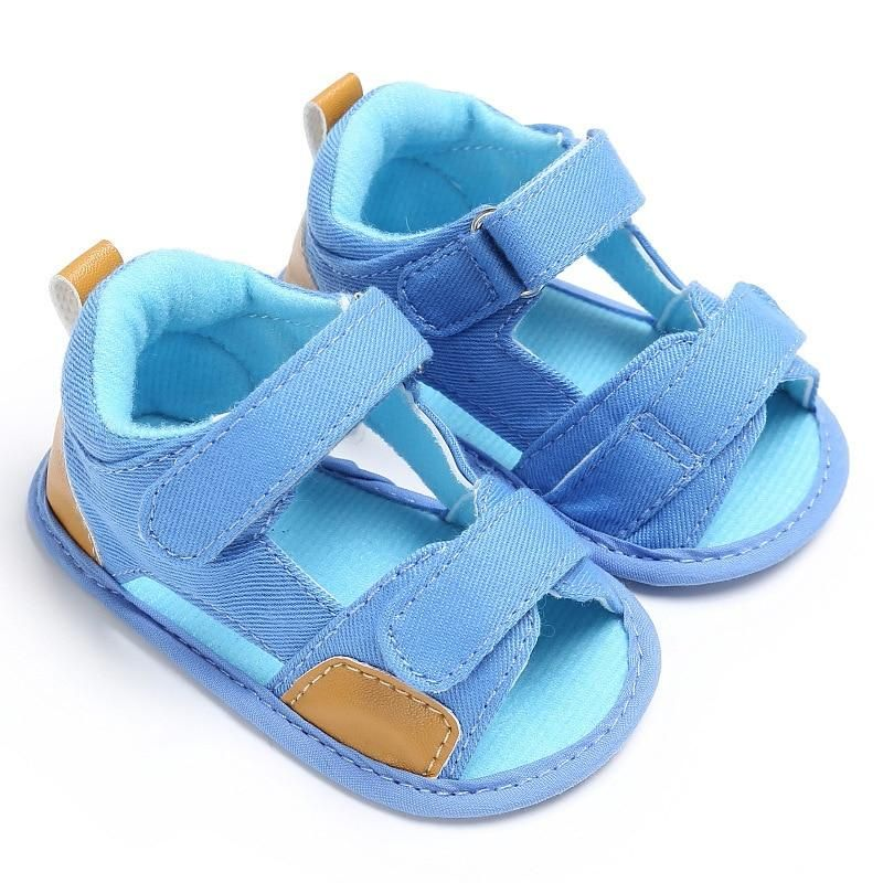 Summer Infant Toddler Kids Baby Girl Canvas Solid Sandals Soft Casual Shoes Soft