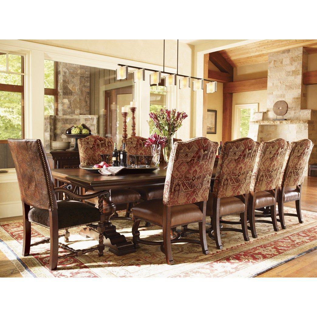 Lexington Furniture 45588001 Fieldale Lodge Aspen Side Chair Prepossessing Aspen Home Dining Room Furniture Review