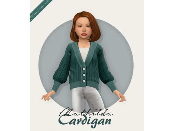 Mathilda Cardigan - Kids Version - The Sims 4