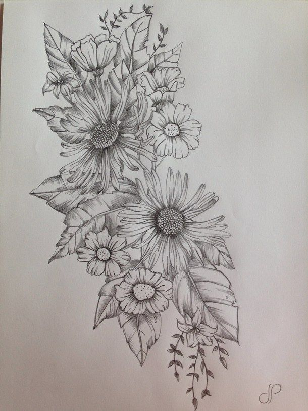 Into the shading and detailing on the flowers, cute # ...