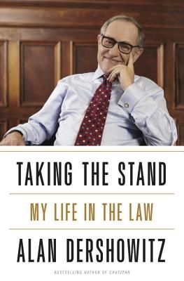 Taking the Stand: My Life in the Law October 2013