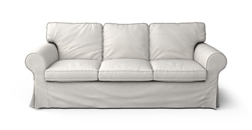 Fit Round Arm Sofa Slipcover