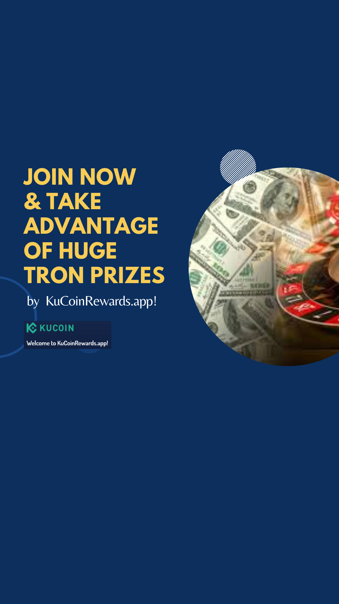 Join Kucoin Referral Lucky Draw And Get Huge Tron Rewards Referrals Lucky Tron