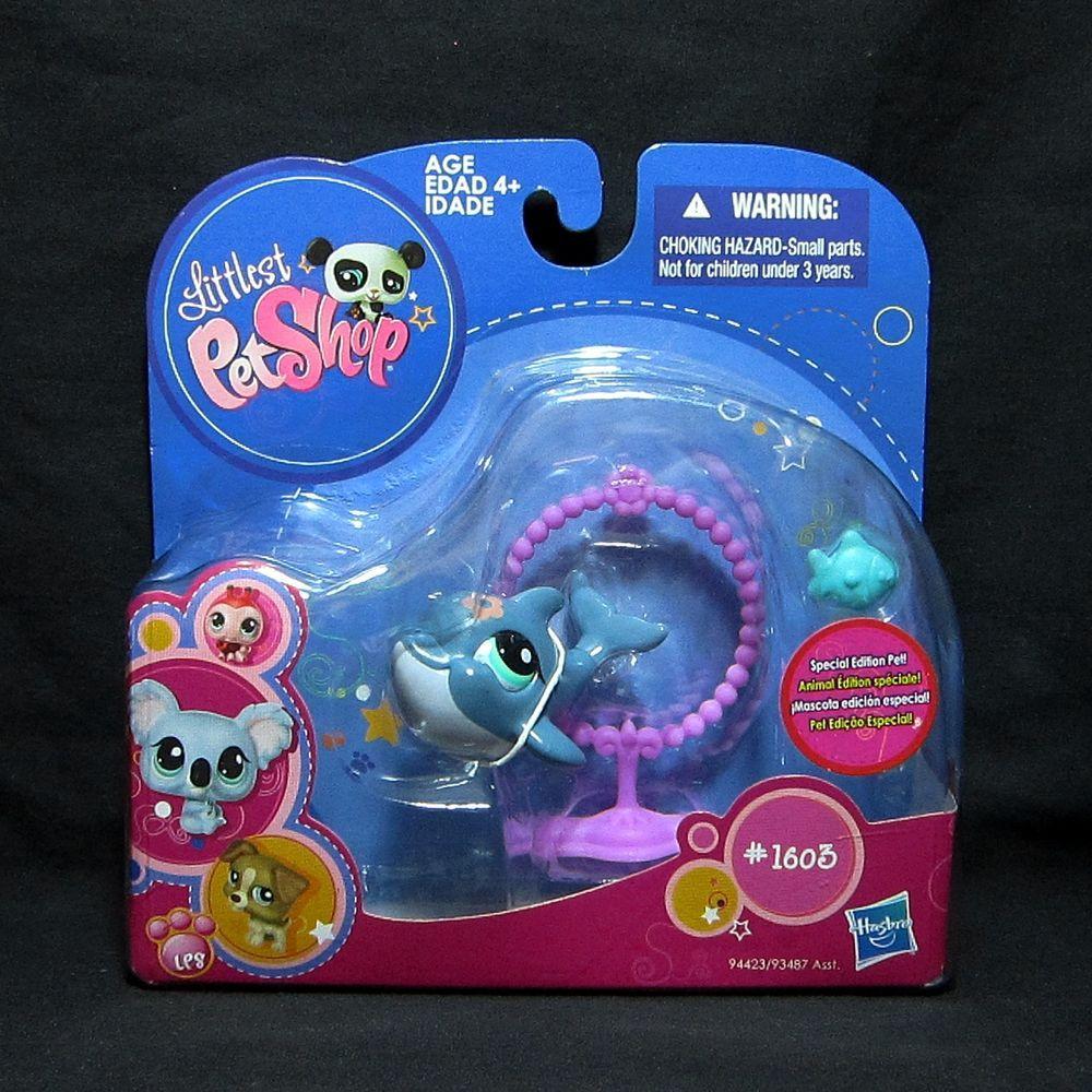 Littlest Pet Shop LPS 1603 Dolphin Special Edition Pet