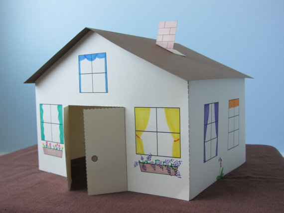 Paper House Craft For Kids Instant By Fanfaron Watch The You Video And Emble A Yourself