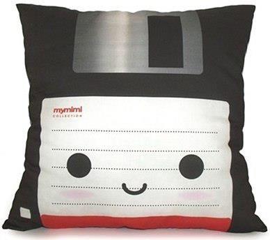 Cute floppy disk pillow