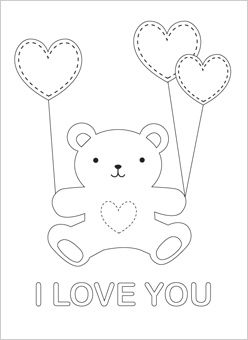Teddy Bear I Love You Children S Friend Teddy Bear Carries Heart