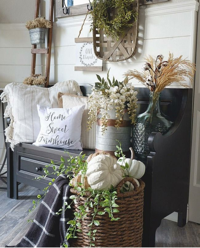 Photo of Gorgeous Neutral Fall Decor Ideas