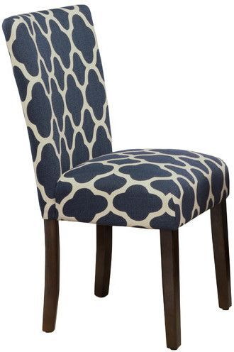 navy blue dining chairs nailhead red barrel studio conde parsons chair chair navy blue dining products pinterest