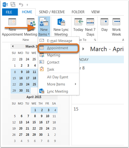 How to Insert Google Calendar, Apple Calendar & Outlook