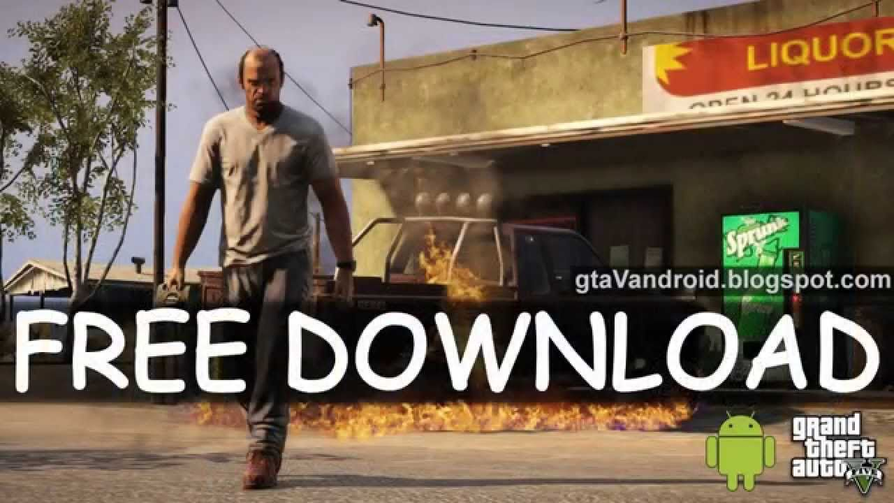 GTA 5 Apk + OBB Data Free Download for Android Mobiles and Tablets - Free  Full