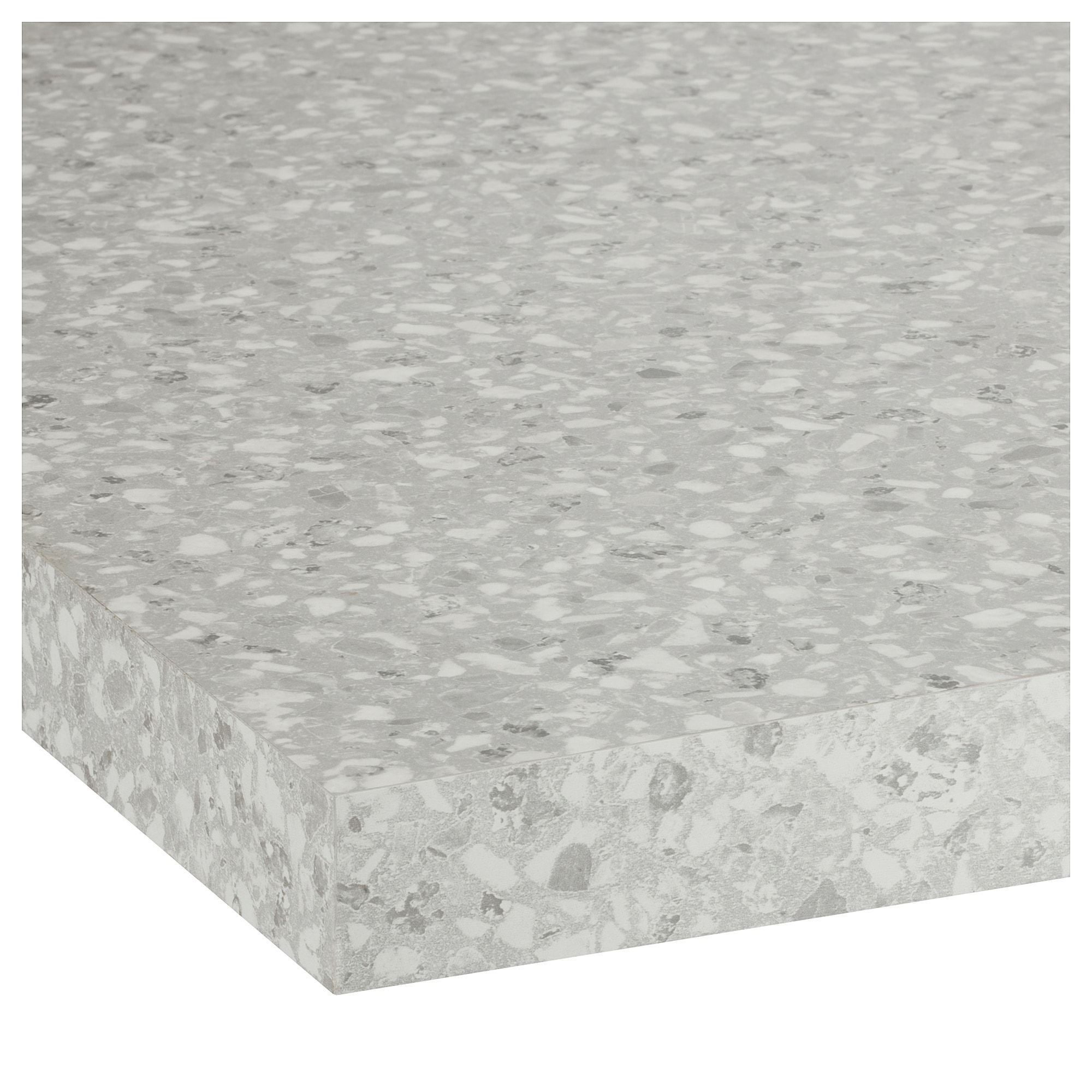 Arbeitsplatte Ikea Ikea SÄljan Countertop Light Gray Mineral Effect Laminate In
