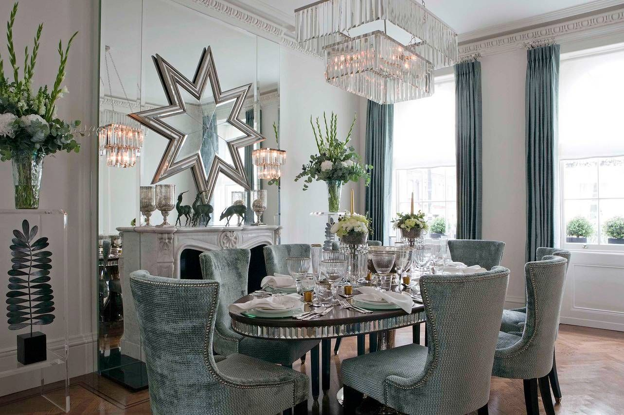 Dining Chair Trends For  From Vintage Elegance To Stackable - Blue dining room chairs
