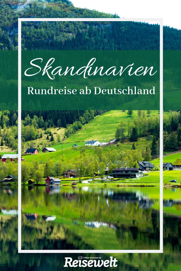 Skandinavien-Rundreise: dieser Roadtrip ab Deutschland führt euch durch drei Länder