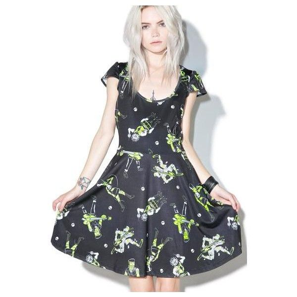 ca9f26e4f80 Japan L.A. Rilakkuma Rainbow Dress (£58) ❤ liked on Polyvore featuring  dresses