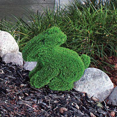 Design Toscano European Style Sculptural Bunny Rabbit Topiary Statue