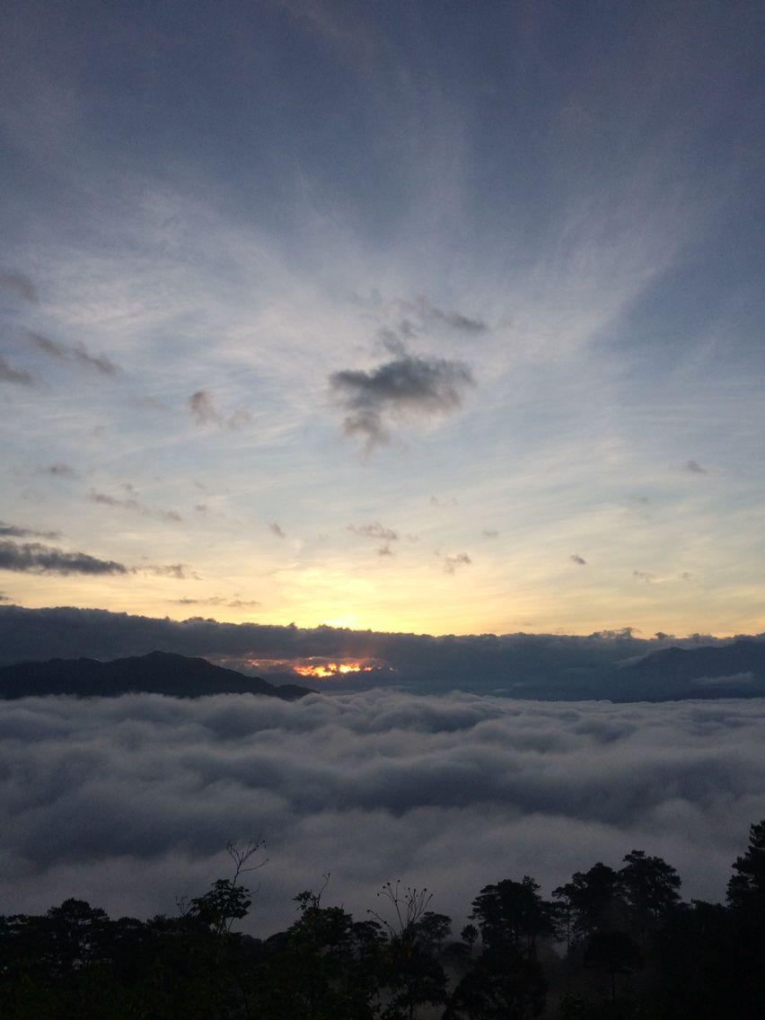 sea of clouds mtkitepan sagada philippines sea