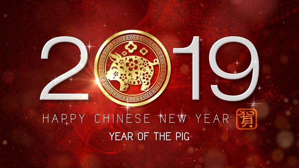 Happy Chinese New Year of the Pig 2019 Luck and What You
