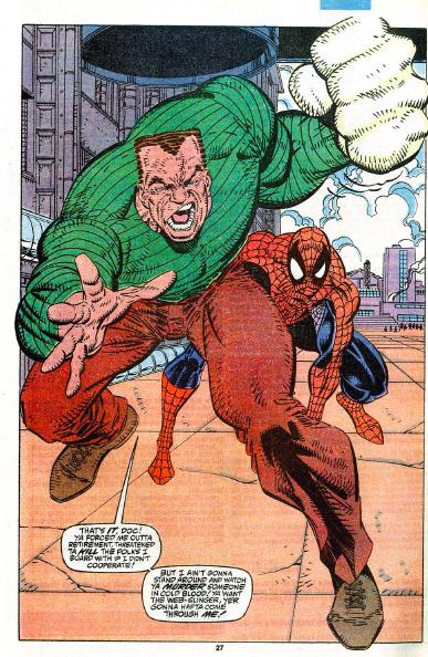 sandman spiderman looked like - 387×594
