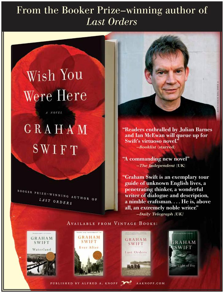 Wish You Were Here by Graham Swift 9780307744395