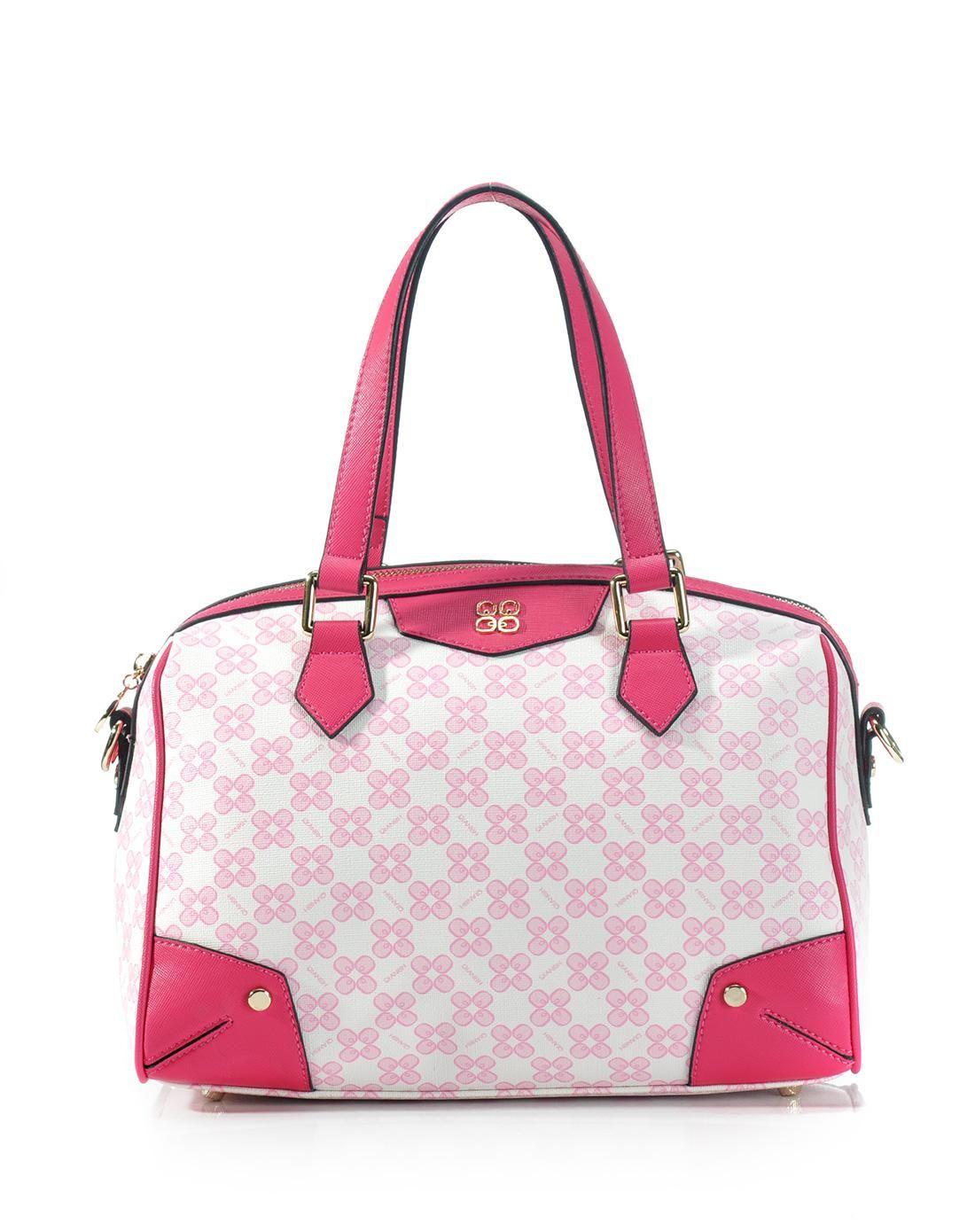 AdoreWe QIANBH Pink and White Pink Color Chain Handbag - AdoreWe.com ... d4f8beeebb3f0