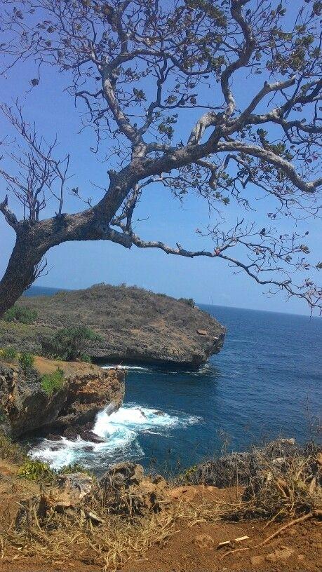 Kesirat Beach Gunung Kidul Jogjakarta Paradise Island Pemandangan Indonesia