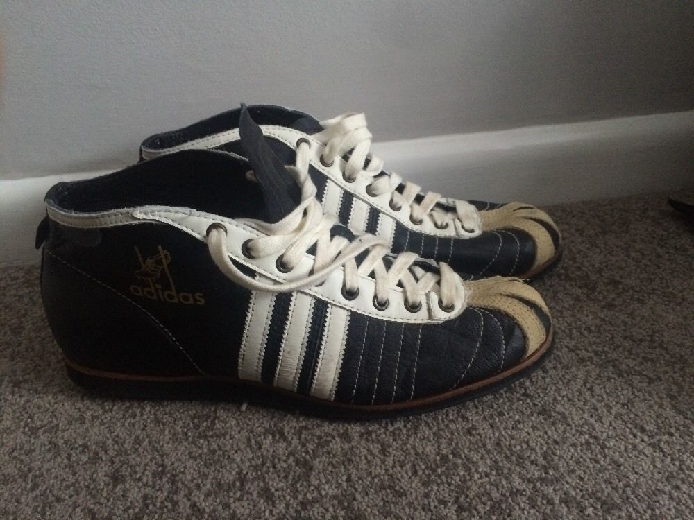 Retro Addidas Trainers. Mens. Size 8. Updated Repro. Vintage Football 54  5068e6a77a288