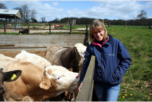 Minette Batters of the National Farmers' Union. Flooded farmers have accused the Environment Agency of putting 'birds before people'