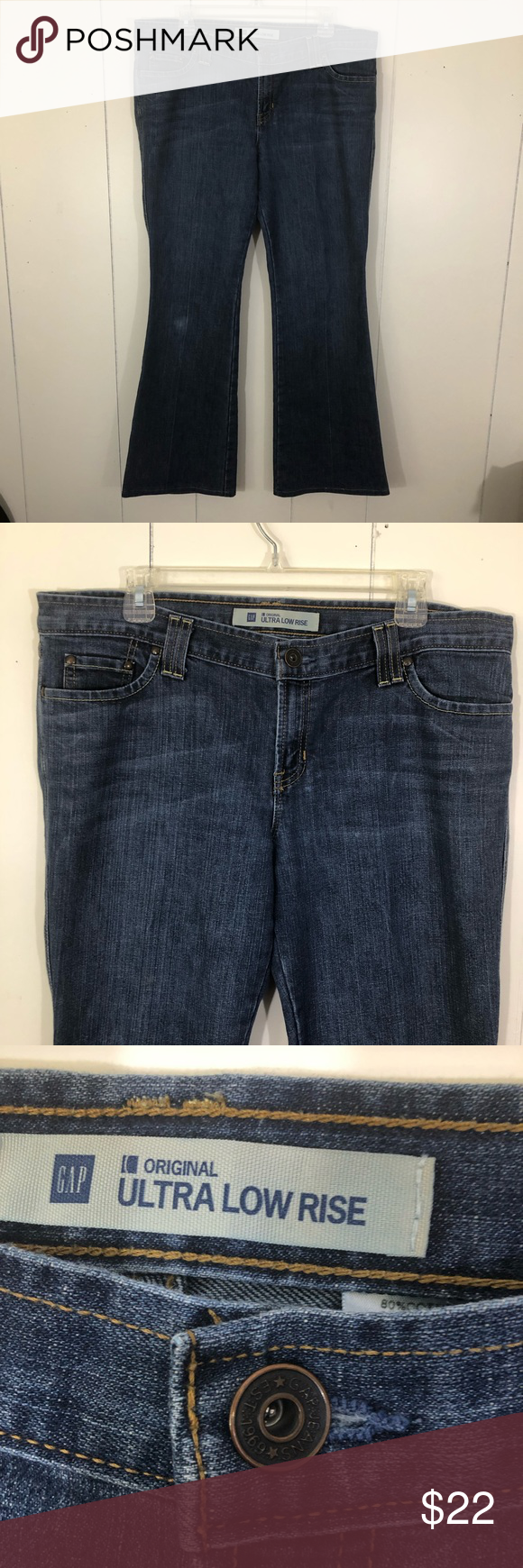 classcic how to choose popular style GAP Ultra Low Rise Flare Jeans size 14 GAP Ultra Low Rise ...