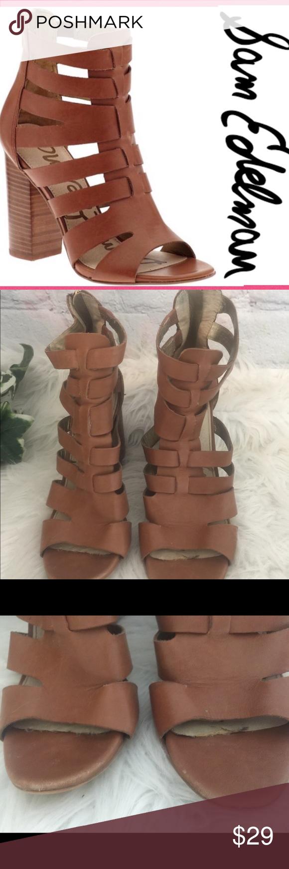 584243431a3cc 💥Sam Edelman Leather Gladiator Sandals💥8 1 2 Sam Edelman Yazmine  Gladiator Sandals