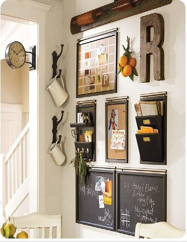 Kitchen Command Centers: Do You Really Use Them? | Decorchick! Changing Her  World, One Project At A Time
