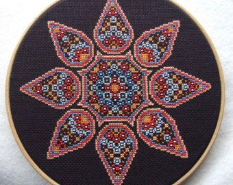 Lovely Gypsy Chart Counted Cross Stitch Pattern Needlework Xstitch
