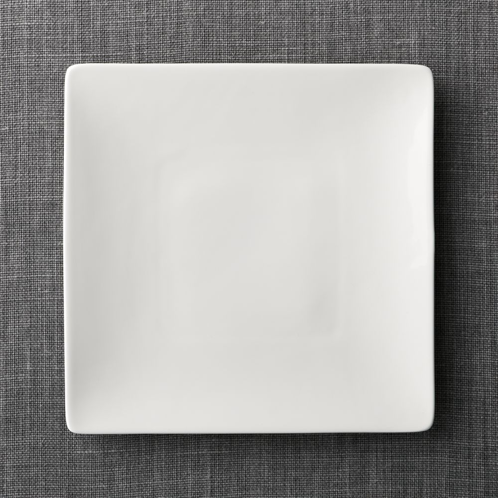 Bennett Square Dinner Plate + Reviews | Crate and Barrel