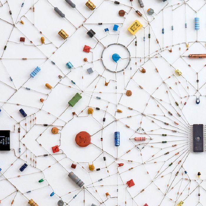 circuit board art | Moodboard: Westwood Lobby | Pinterest | Board ...